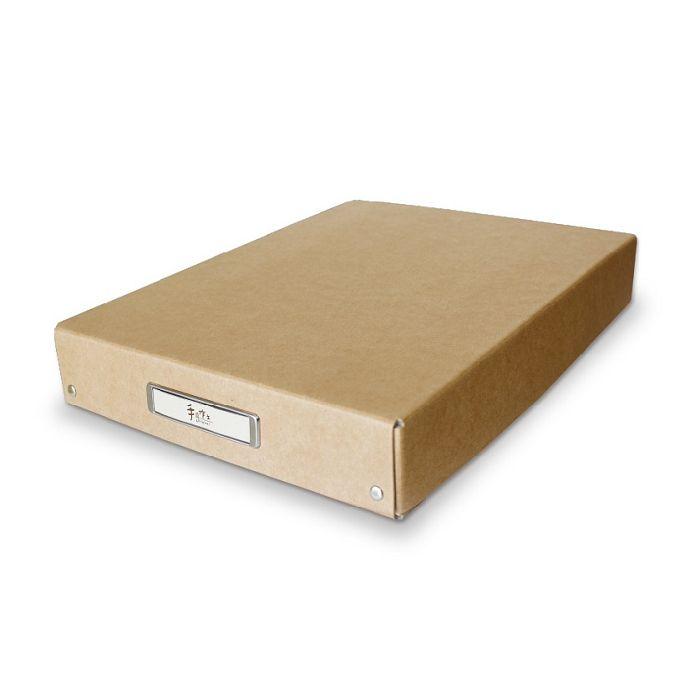 【三瑩】手作之A4收藏整理盒-牛皮