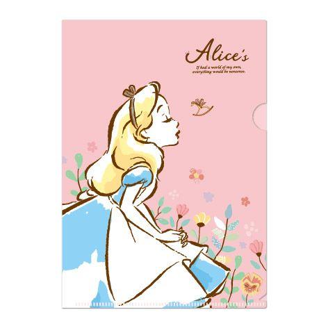 迪士尼L型夾-愛麗絲A