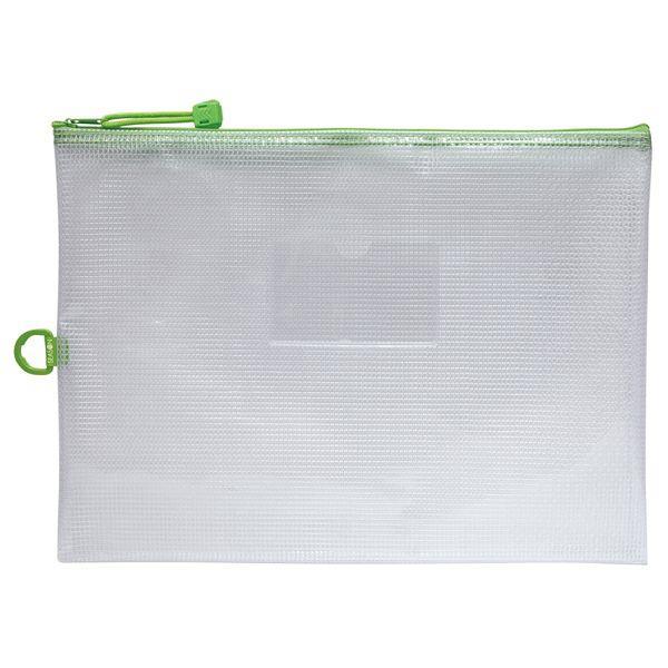 A4防水拉鍊袋(加袋)-綠