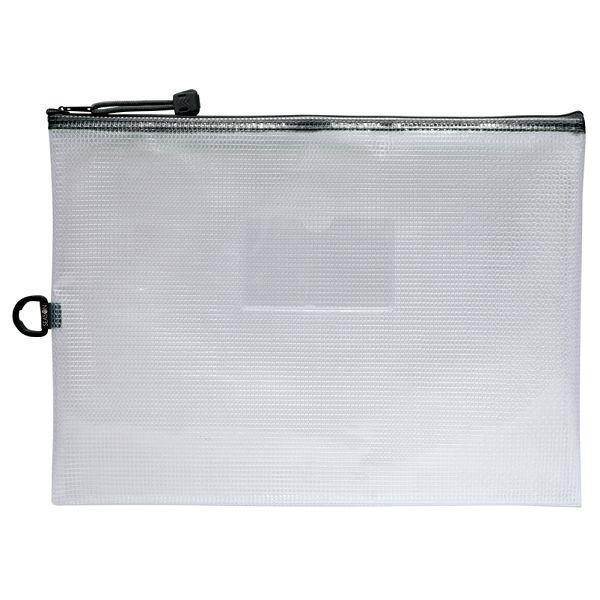 A4防水拉鍊袋(加袋)-黑