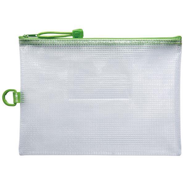 A5防水拉鍊袋(加袋)-綠