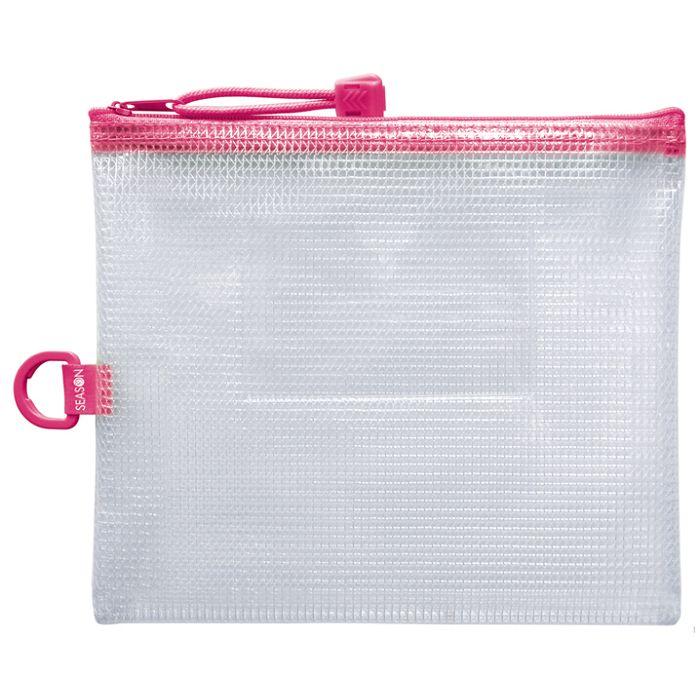 B6防水拉鍊袋(加袋)-粉