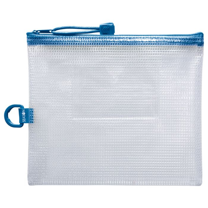 B6防水拉鍊袋(加袋)-藍