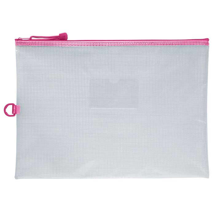 B4防水拉鍊袋(加袋)-粉
