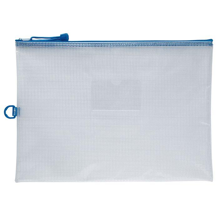 B4防水拉鍊袋(加袋)-藍