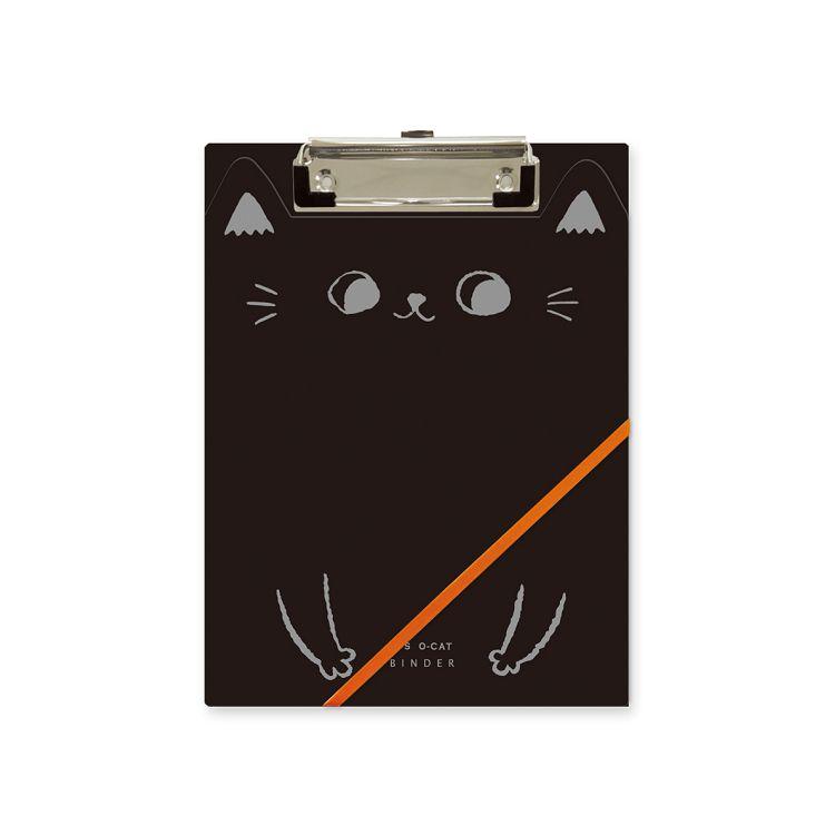 O-cat貓耳A5丹麥夾-黑
