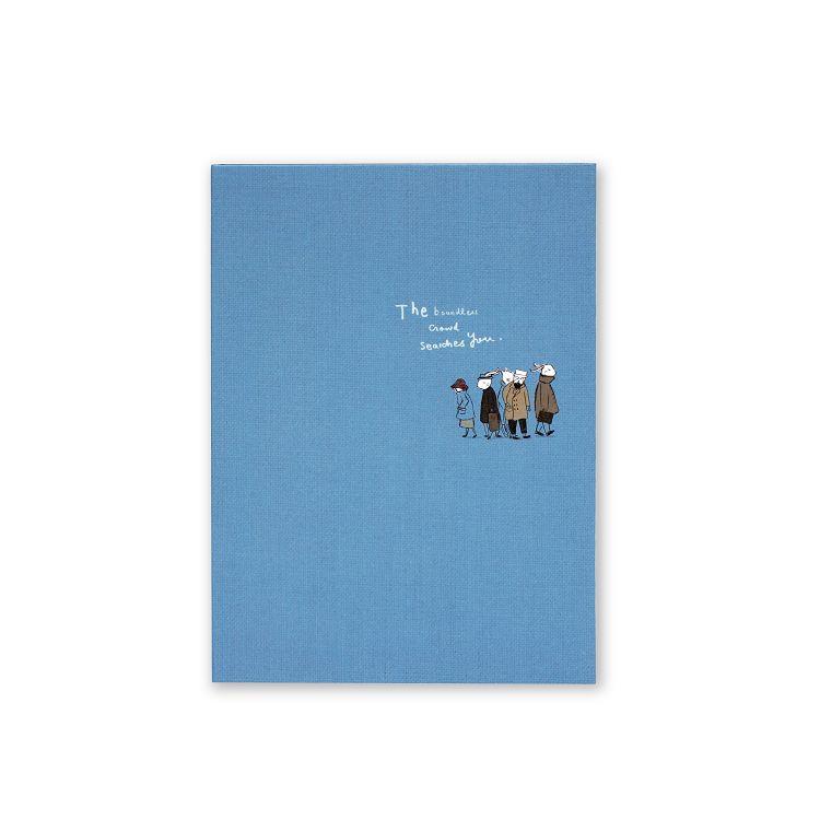 旅人窄版20孔夾-藍