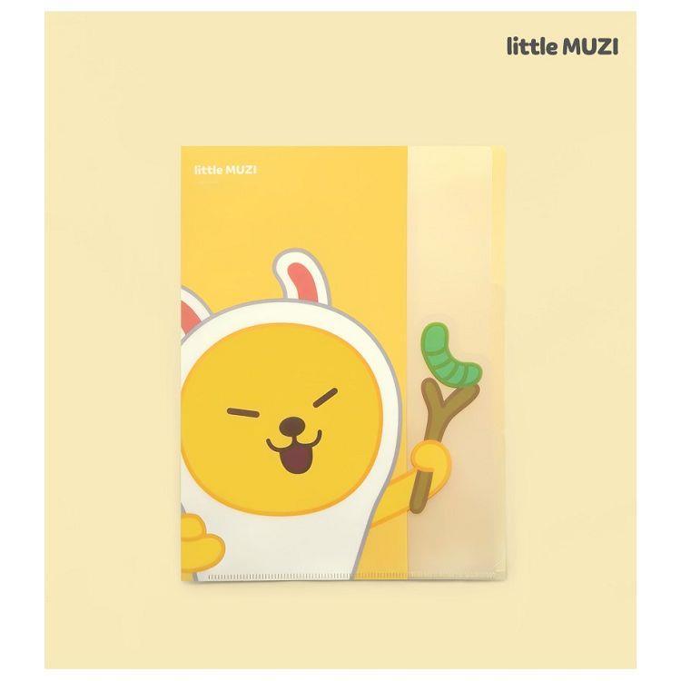 [kakao]little friends多層a4 L型資料夾-little muzi