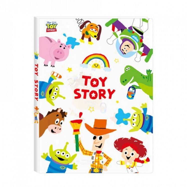 (特價)迪士尼20入資料本-玩具