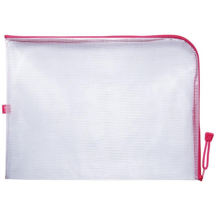 B4L型防水拉鍊袋-粉