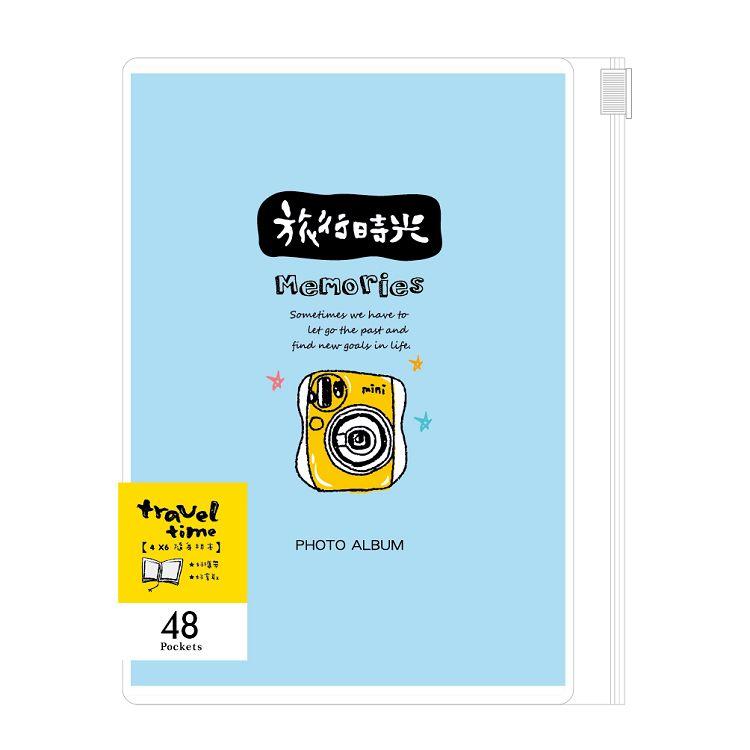 【青青】旅行時光-4*6隨身相本-相機