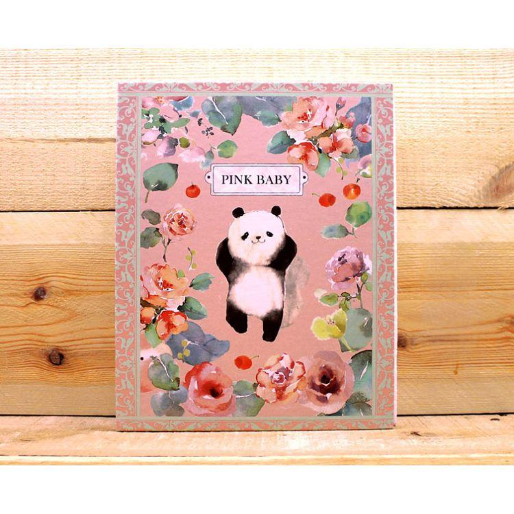 涼丰200入4**6相本-薔薇熊貓