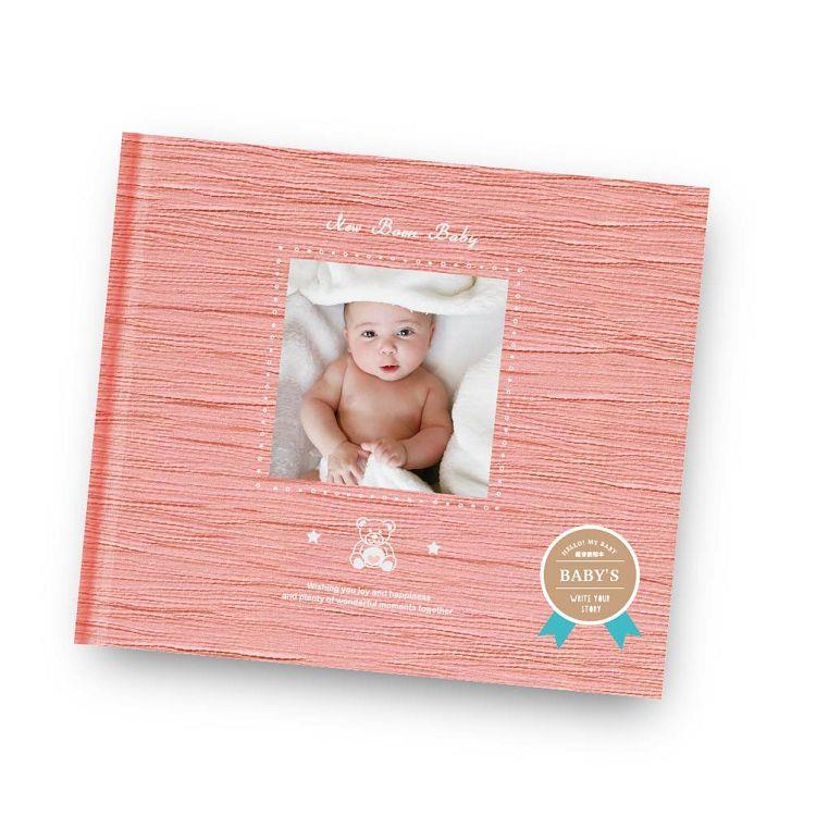 簡單生活-寶寶超音波活頁相本-嫩櫻粉