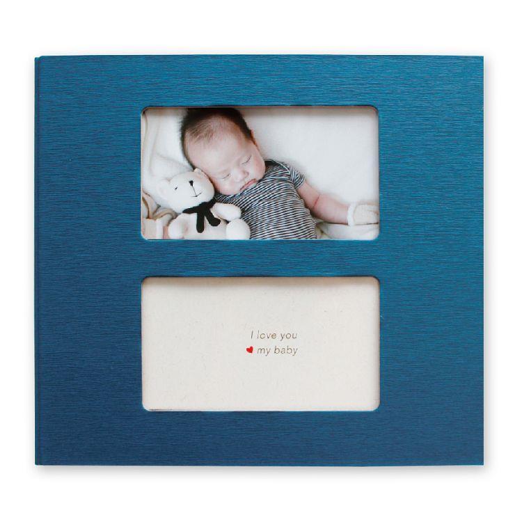 【三瑩】雙框寶寶相本-藍