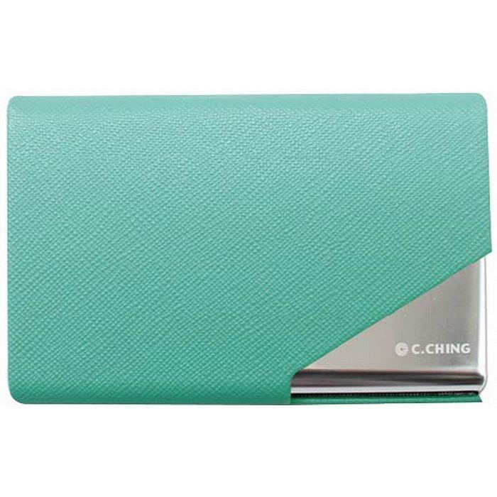 【青青文具】Calm-時尚精緻名片盒(綠)