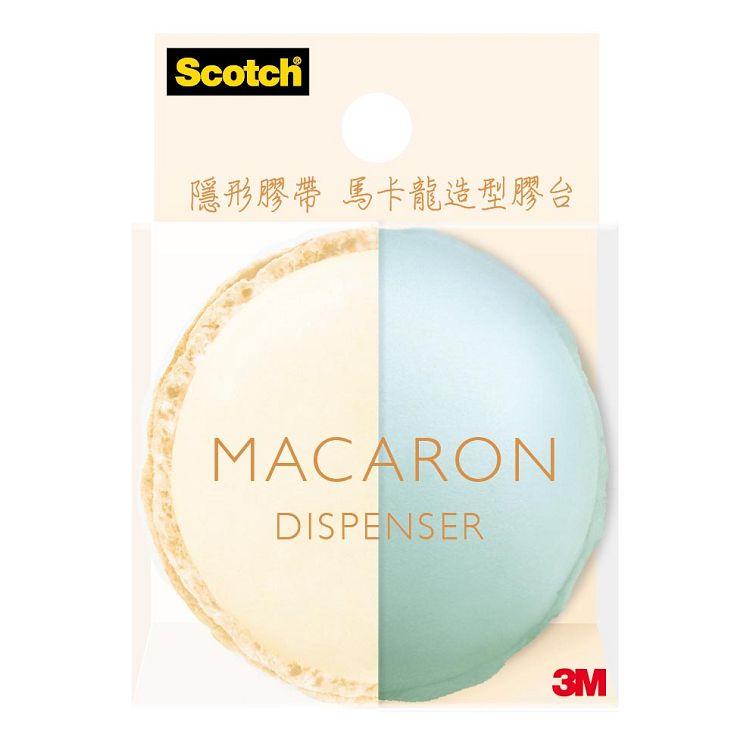 3M馬卡龍造型膠台-香草薄荷 (810MD-3)