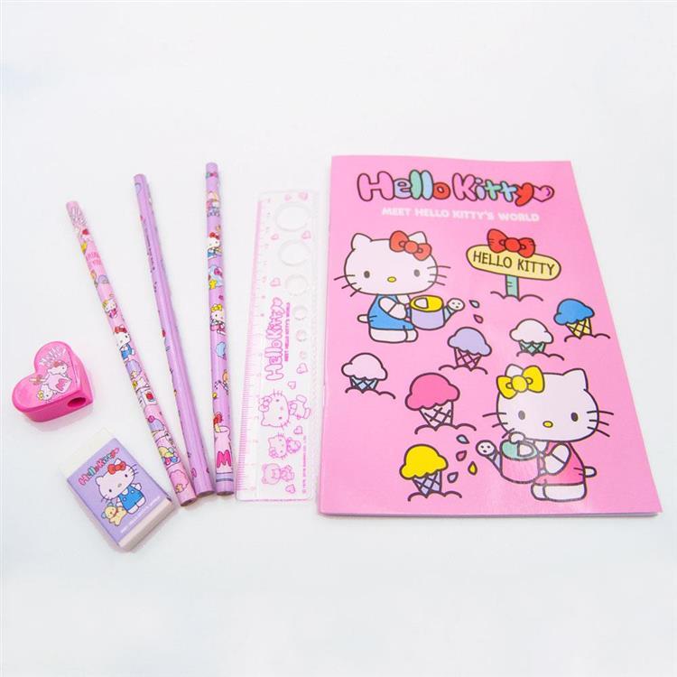 HELLO KITTY世界 袋裝文具組