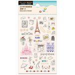 【珠友】DIY手作裝飾貼紙-法國