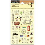 【珠友】DIY手作裝飾貼紙-英國