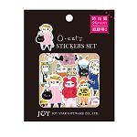 【九達】O-Cat紙膠帶材質小物貼-時尚