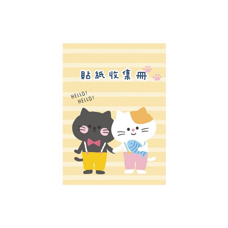 卡哇伊16K貼紙收集冊C-貓