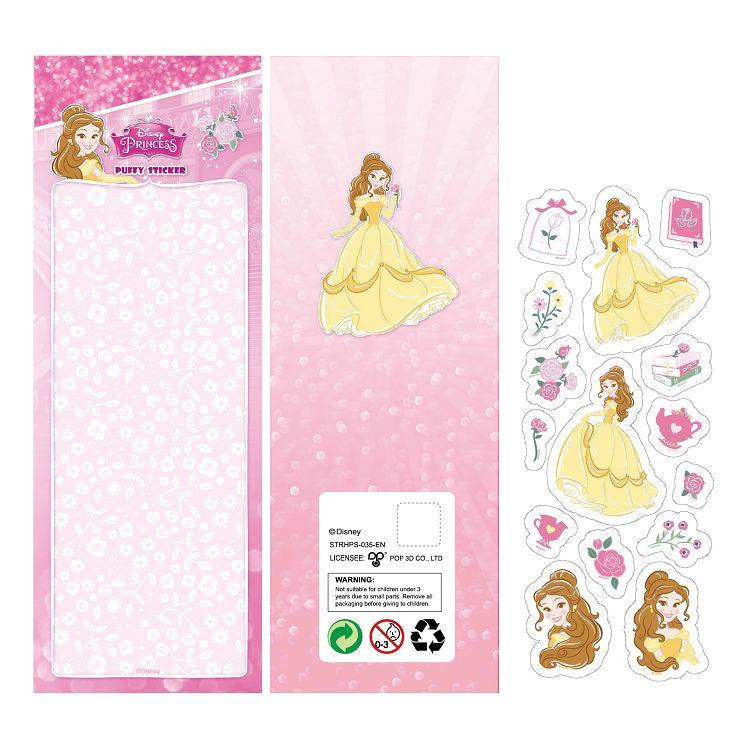 公主泡泡貼紙