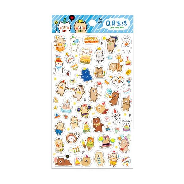【青青】MiniQ-Q貝生活手帳裝飾貼