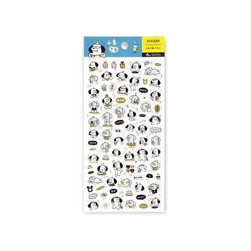 【柏格文具】透明手帳貼-小象艾樂