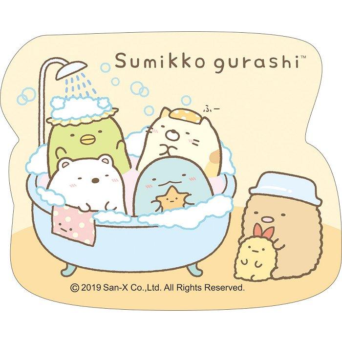 角落小夥伴造型貼紙-浴缸