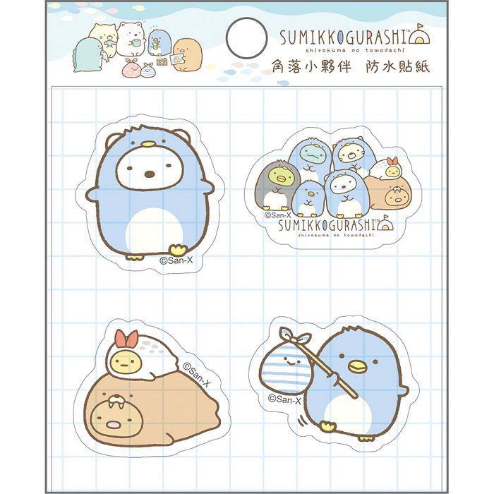 小夥伴防水貼紙-企鵝