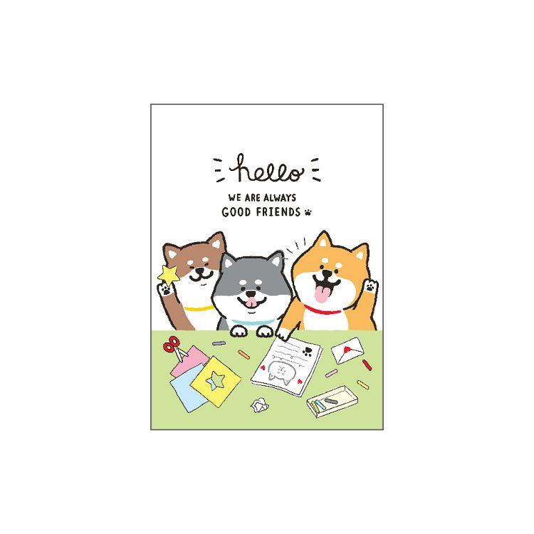 柴犬25K貼紙收集冊-畫畫