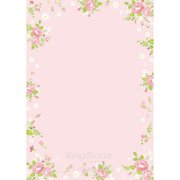 彩色影印紙A4-粉花