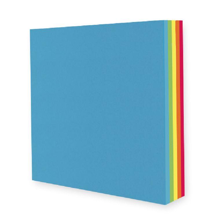 【九達】15*15cm玩色紙-繽紛彩虹