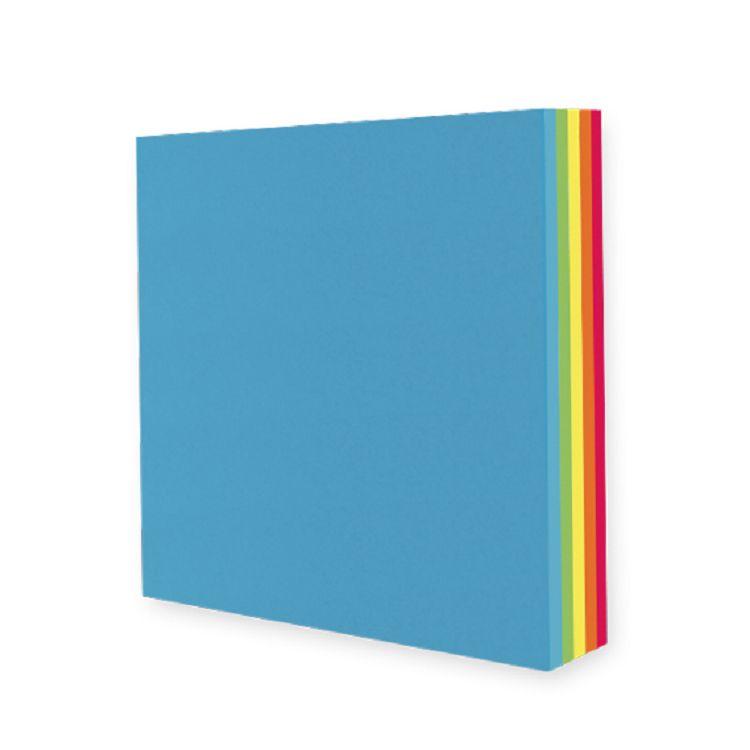 【九達】10*10cm玩色紙-繽紛彩虹