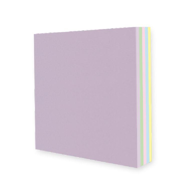 【九達】10*10cm玩色紙-粉彩馬卡龍