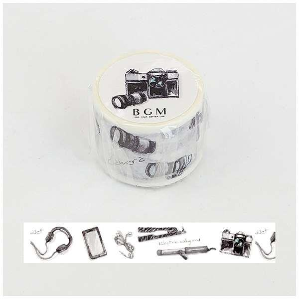 【BGM】和紙膠帶水彩物品心系列-數位設備