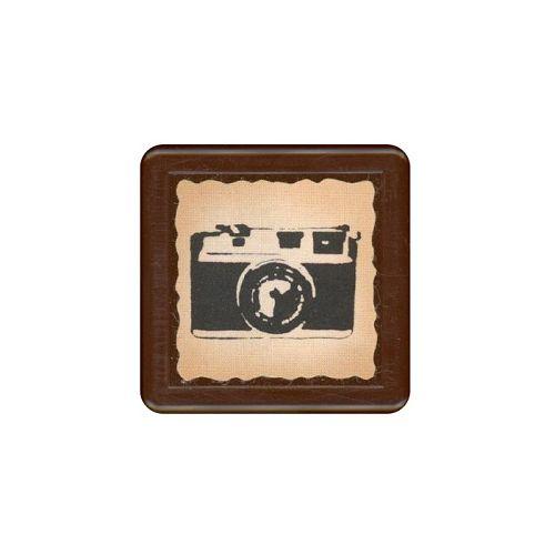 【KODOMO NO KAO】復古浸透印章-相機