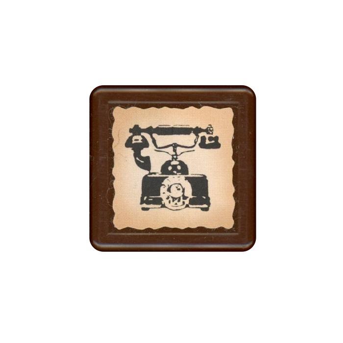 【KODOMO NO KAO】復古浸透印章-電話