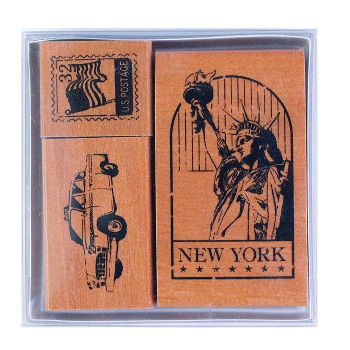 【KODOMO NO KAO】世界印章-美國紐約