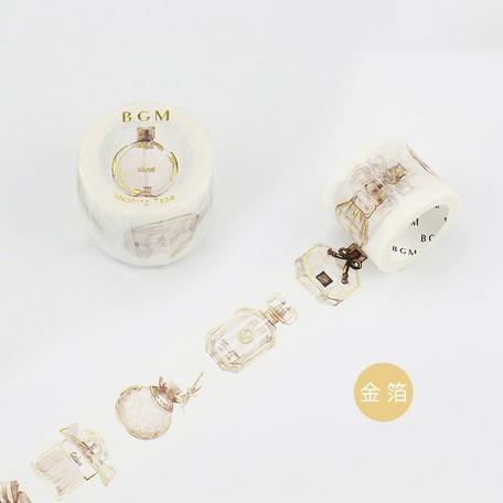 【BGM】和紙膠帶金箔寬版Special系列-香水