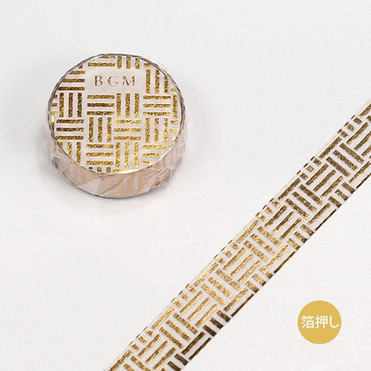 【BGM】和紙膠帶金箔大和物語系列-三崩