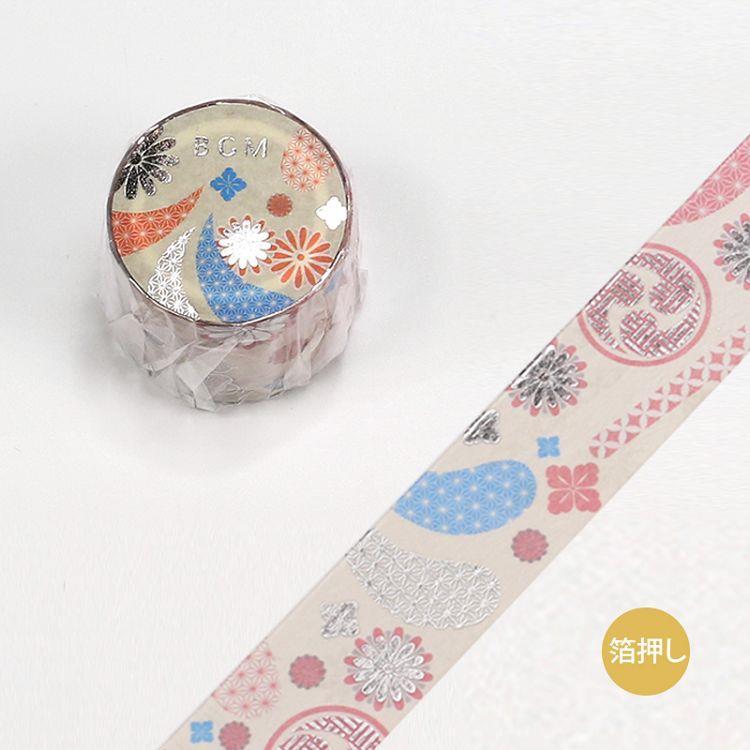 【BGM】和紙膠帶金箔寬版大和物語系列-祭典