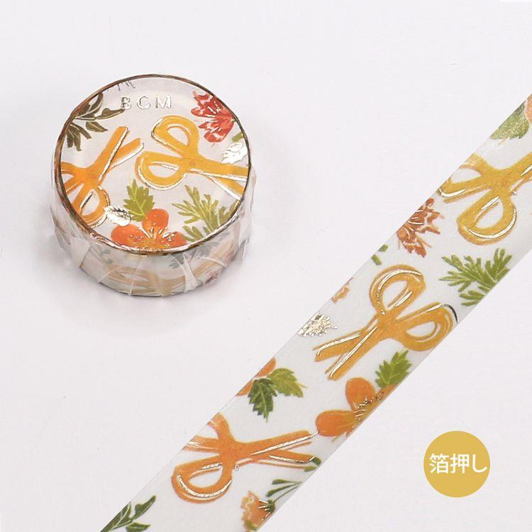 【BGM】和紙膠帶金箔女子文具系列-剪刀