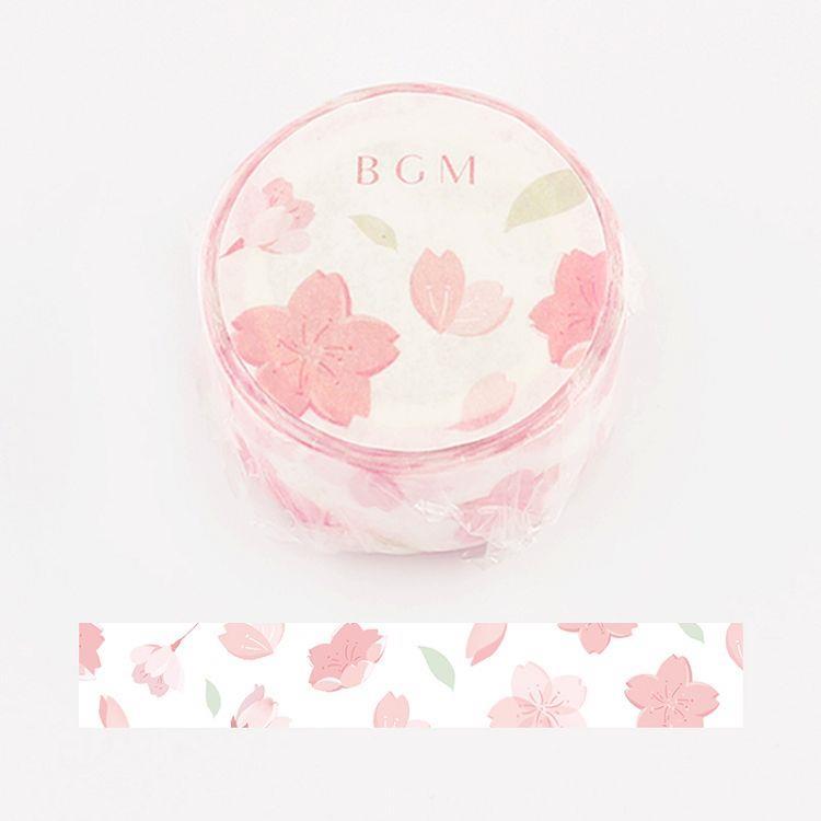 【BGM】和紙膠帶Special櫻系列-舞櫻