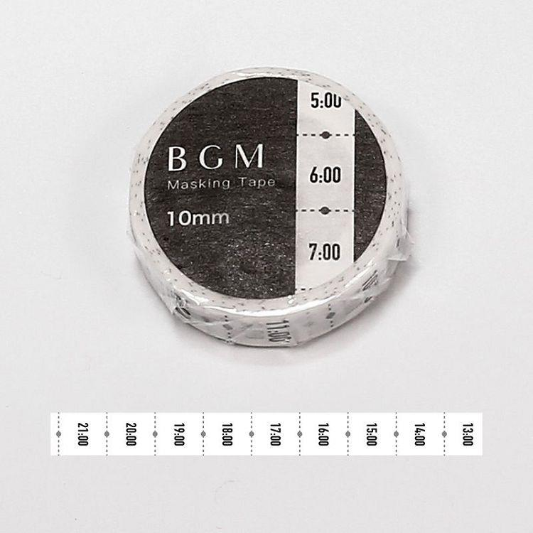 【BGM】和紙膠帶細版Special記事系列-時刻