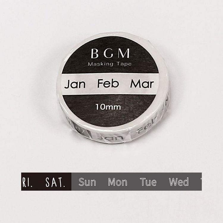 【BGM】和紙膠帶細版Special記事系列-月