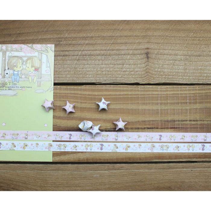 折星星紙條(A&T庭園櫻花)