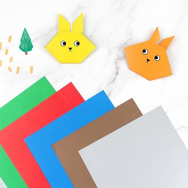 【珠友】素色雙面色紙15**15cm-50入(款式隨機出貨)