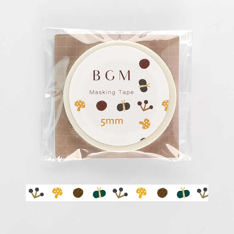 【BGM】和紙膠帶細版Life系列-野草