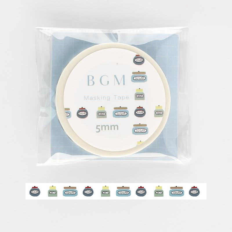 【BGM】和紙膠帶細版Life系列-瓶子